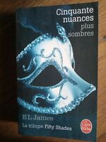 E.L. James : Cinquate nuances plus sombres / Le livre de Poche, 2014