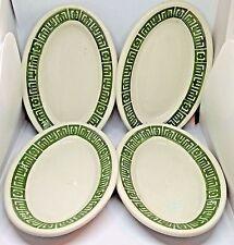 """4 Vintage Sterling China Restaurant Ware 6 1/4"""" Oval Platter #P4~ 1983"""