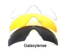 Galaxie Lentilles rechange Oakley SI balistique cadre-m 2.0 Z87 noir/jaune/