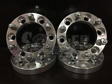 "4 X Toyota 1"" Thick Wheel Spacers 6x5.5 Adapters 12x1.5 Studs 6 Lug Pickups"