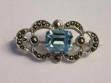 circa 1980s Vintage paste brooch