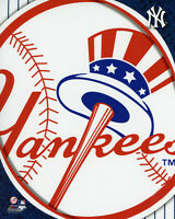 NY NEW YORK YANKEES LOGO Glossy 8x10 Photo Print Major League Baseball Poster