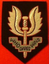 Special Air Service Blazer Badge SAS Blazer Badge
