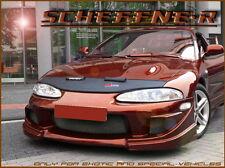 Mitsubishi Eclipse d30/32 bra desprendimiento protección máscara negra con logotipo!!!