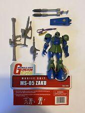 Gundam Wing MS-05 ZAKU Mobile Suit Action Figure MSIA Bandai Complete