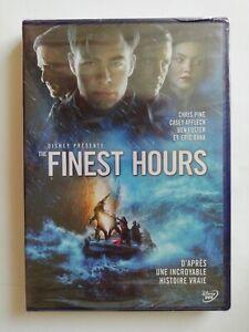 The Finest Hours. DVD Neuf Sous Blister. Chris Pine.