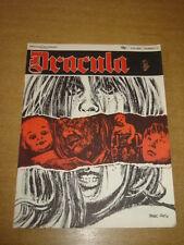 DRACULA VOL 1 #12 FN (6.0) 1971 NEW ENGLISH LIBRARY HORROR MAGAZINE