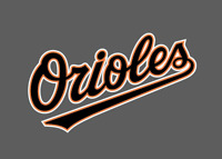 Baltimore Orioles Jersey Logo Sticker Vinyl Vehicle Laptop Decal