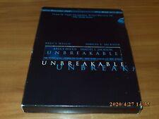 Unbreakable (Dvd, 2001, 2-Disc Set, Vista Series Widescreen) Bruce Willis