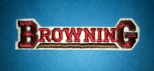 Rare Vintage 1970's Browning Firearms Gun Rifle Hunting Hipster Jacket Patch