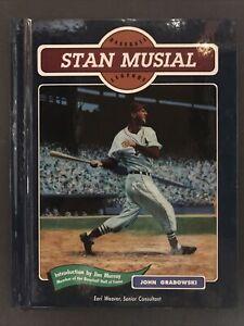 Baseball Legends Series:Stan Musial By John Grabowski 1993 Hardcover Chelsea Hou