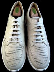 "NEW Allen Edmonds ""OSBORN"" Dress Casual Sneakers 9.5 D Bone  (628)"