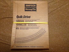 SIMPSON STRONG TIE QUIK DRIVE WSNTL134S COLLATED STRIP SCREW #8 X 1 3/4 QTY 2000