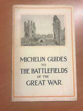 Michelin Champs de Bataille Brochure Great War en anglais
