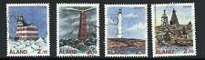 Aland Postally Used #64-67 Booklet Singles Seldom Seen 1992 AL133