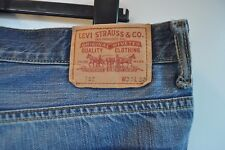 b9b5a0319cd Vintage Levis 752 blue jeans W 33 L 32 red tab zip fly