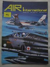 AIR INTERNATIONAL 4/75 PAN AM RCAF MITSUBISHI T-2 HE-177 VARIABLE GEOMETRY ME262