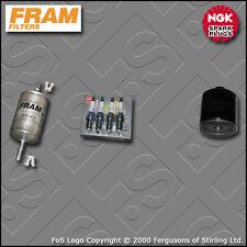 KIT Di Servizio Per VW Polo (6n) 1.0 8v FRAM OLIO CARBURANTE FILTRI TAPPI (1999-2001)