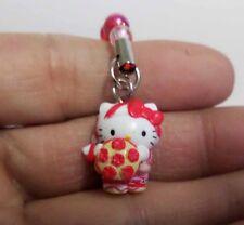 Hello Kitty Cosplay Folk Dance CellPhone Strap H1