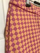Fairway & Greene Golf Skort: Skirt With Shorts Womens Size 8 Fushia Pink Orange