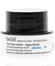 Belif True Cream Aqua Bomb 0.33 fl oz Believe in Truth Travel Size Moisturizer