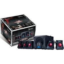 GENIUS SWG51-3500 80W 5.1 SPEAKER SYSTEM WITH SUBWOOFER / RCA & 3.5MM JACK INPUT