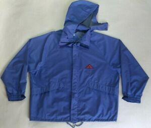 Vintage Aesse Technical Equipment Jacket Purple Nylon Windbreaker Size XL Top