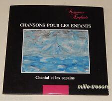 CD CHANSONS pour les ENFANTS -CHANTAL et les COPAINS - LEVITAN S.A.