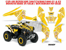 AMR Racing DECORO GRAPHIC KIT ATV CAN-AM Renegade, ds250, ds450, ds650 Mandy B