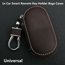 Fashion Portable Coffee PU Leather Car SUV Smart Remote Key Holder Bags Case Fob