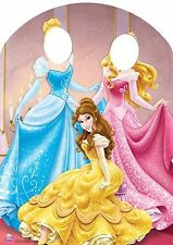 Star Cutouts Cut Out of Disney Princess Stand-in