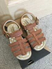 Start Rite 8F infant Carousel Tan leather sandals John Lewis