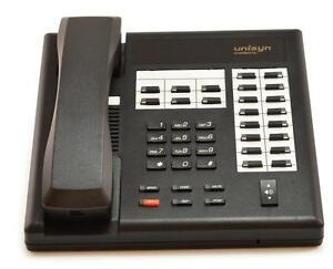 Fully Refurbished Comdial Unisyn 1122S Speaker Phone (Black)