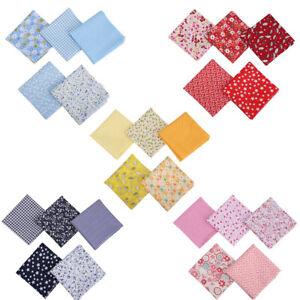 5X Fat Quarter Fabric Bundle 100% Cotton Quilting Patchwork Mixed Craft 50*50cm