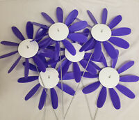 Classic Spinning Daisies, Domestic Violence Awareness,Quanties of 3, 6,12, or 24