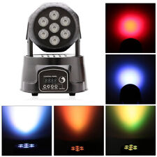 105W RGBW LED Spot Moving Head Light DMX Stage Lighting Plastic DJ Party Light