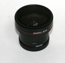 Objectifs fisheyes 58 mm pour appareil photo et caméscope