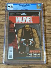 Guardians of The Galaxy #1 CGC 9.8 Wht Pgs Action Figure Variant Cover Rare
