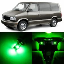 14 x Ultra Green Interior LED Lights Package For 1995 - 2005 GMC Safari +TOOL