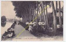 CPA 89000 AUXERRE Arbre Sec Bords de l'Yonne avec pêcheurs Edit TOULOT ND