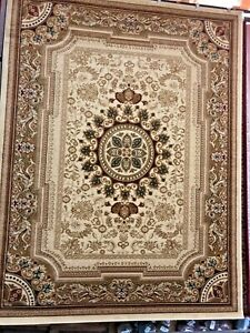 Floral Ivory Po5 8x10 area rug for the home New!~ Just Beautiful