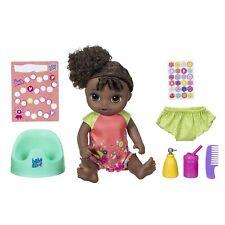 Bébé Alive Potty Danse Bébé : Parlant Bébé Poupée avec Noir Bouclé Cheveux