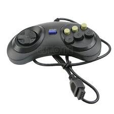 Wired Pad 6 Button Gamepad Controller For Sega Mega Drive Megadrive MD Genesis
