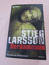 """Verdammnis"" Stieg Larsson TB"