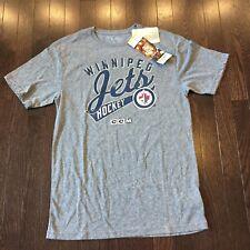 Winnipeg Jets NHL CCM Shirt Mens Size S NWT