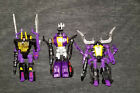 Transformers Generations Insecticons Shrapnel Kickback Bombshell Nonnef Guns