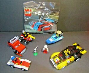 Lego City Creator Cars Bundle Sets With Instruction Manuals Complete Lot
