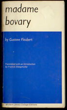 Madame Bovary - Gustave Flaubert - Modern Library College Editions  A3