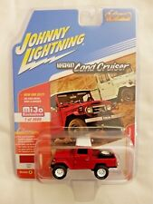 Johnny Lightning Toyota Land Cruiser Mint Red On White Pickup Mijo Exclusive