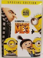 Despicable Me 3 (DVD, 2017) || BRAND NEW